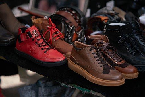 A Used Market, Color, Shoes, Walk, Shower