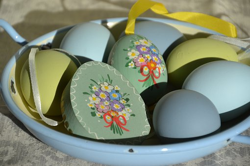 Egg, Painted, Easter, Decoration