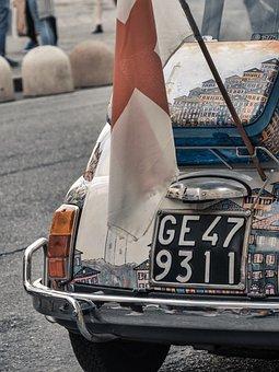 Genoa, Genova, Auto, Italian Car, Italy