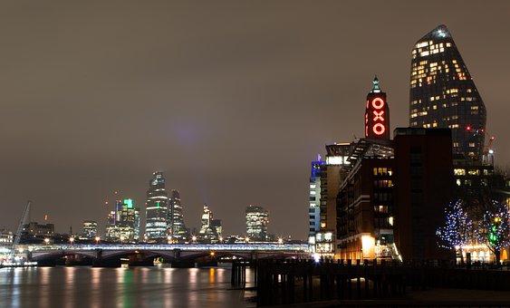 London Oxo, London Skyline, London