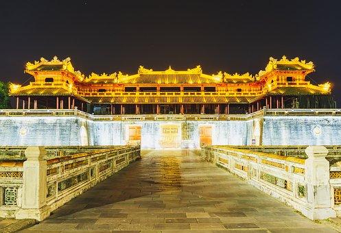 Meridian Gate, Hue Vietnam, Buidings, History, Vietnam