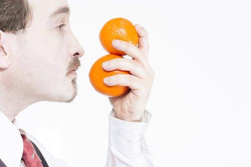 Portrait, Orange, Vitamin, Refreshment