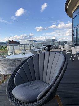 Terrasse, Lounge, Bar, Restaurant, Sky, Cloudkit, Table