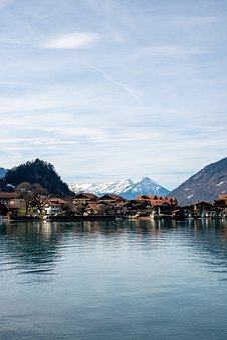 Switzerland, Iseltwald, Brine, Lake Brienz, Bern, Swiss