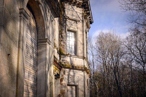 Facade, Villa, House, Manor House