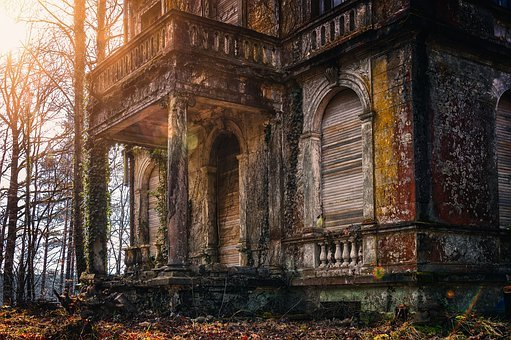 House, Mystical, Villa, Secret, Fantasy, Mood, Gloomy