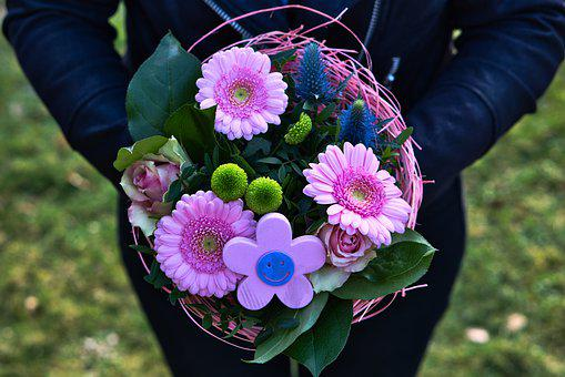 Valentine's Day, Women's Day, Mother's Day, Bouquet