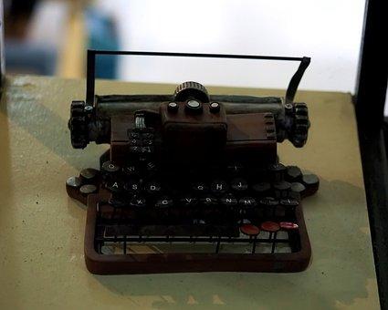Type, Writer, Old, Vintage, Classic, Damage, Retro