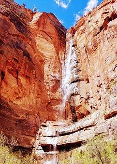 Zion, Zion National Park, Park, Utah, Landscape, Canyon