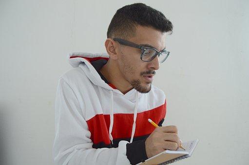 Daniel Alvarez, Daniel, Alvarez, Nerd, Writing, Man