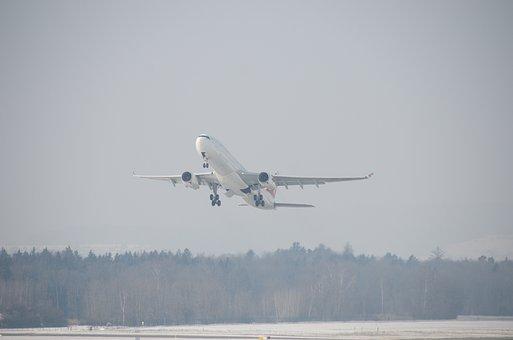 Airport, Zurich, Aircraft, Aviation