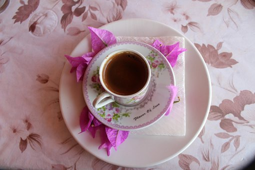 Pink, Coffee, Cup, Quote, Magazine, Flower, Birthday