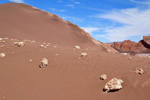 Chile, Sand, Atacama, Landscape, Nature, Andes, Desert