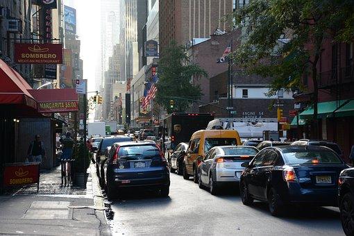 Trafic, Car, Street, Traffic, City, Road, Driving