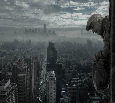 New York, Man, Old, Height, City