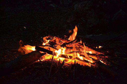 Fire, Coal, The Embers, Heat, Calls, Wood, Hot
