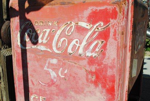 Coca Cola, Beverage, Nostalgia, Old, Cafe, Drink