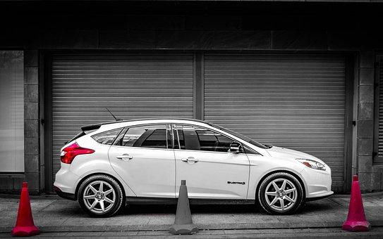 Ford, Focus, Electric, Gray Focus