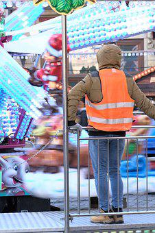 Lunapark, Safety, Fun, Carousel, Amusement Park