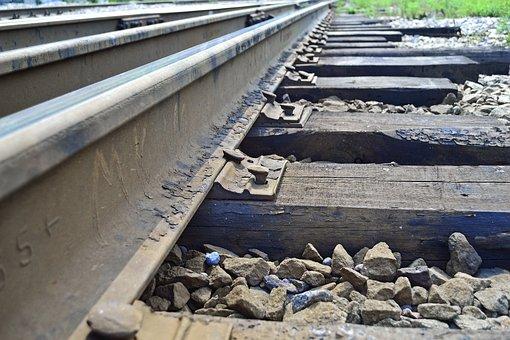 Sleepers, Rails, Train, Gravel, The Ussr
