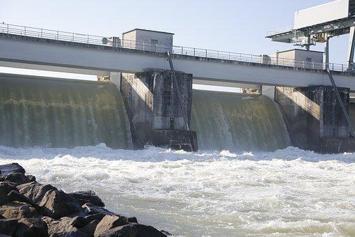 Power Plant, Inn, Oberberg, River, Waters, Landscape