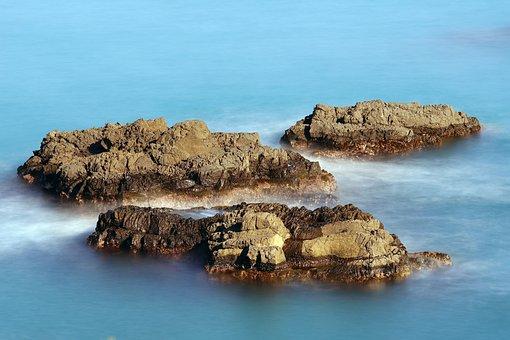 Jusang Joint, Volcano, Travel, Rock, Sea
