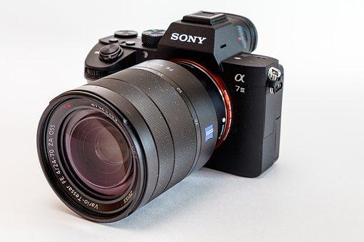 Camera, Digital Camera, Lens, Sony, Alpha, Ilce-7m3