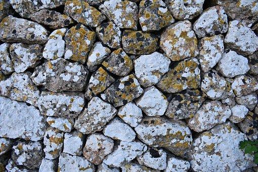Stones, Lichen, Moss, Rocks, Rock, Stone, Background