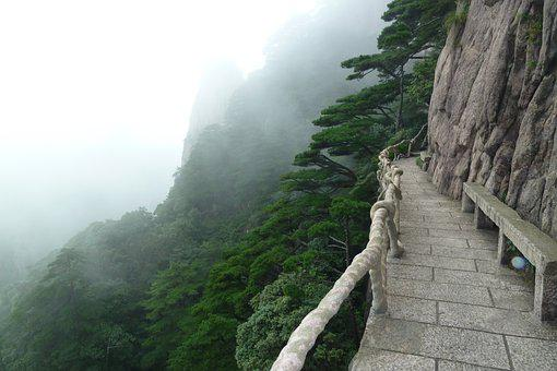 The Challenge, Winding Road, Nature, Mountain, Dare To