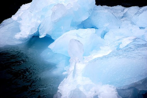 Ice, Glacier, Iceberg, Arctic, Mountains, Cold
