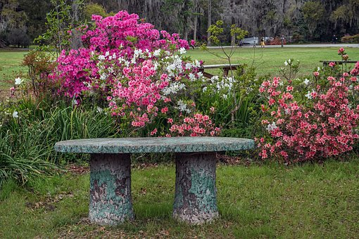 Bench, Seat, Rest, Sit, Furniture, Stone