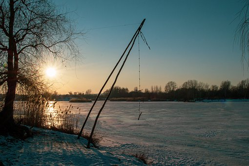 Winter, Ice, Cold, Frozen, Bungee, Swing