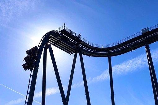 Roller Coaster, Carousel, Heide Park Soltau, Theme Park