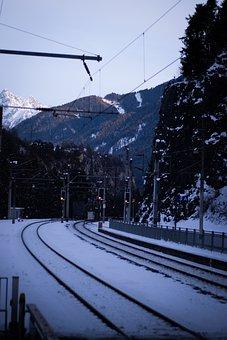 Rail Track, Track, Railroad, Rail