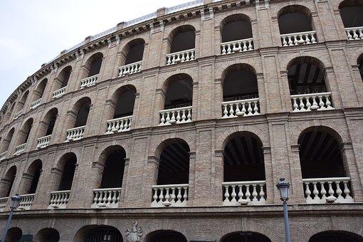 Valencia, Colosseum, Building, Amphitheater
