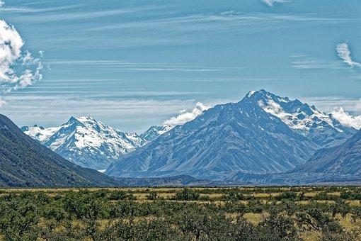 New Zealand, Aoraki Mount Cook National Park