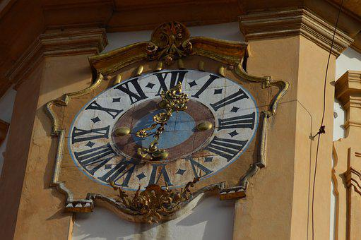 Eggenberg, Graz, Austria, Clock, Tower