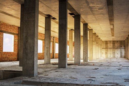 Buildings, Concrete, Construction, Architecture, Built