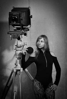 Studio, Camera, Phototechnique, Retro