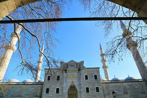 Cami, The Minarets, City, Islam, Religion, Travel
