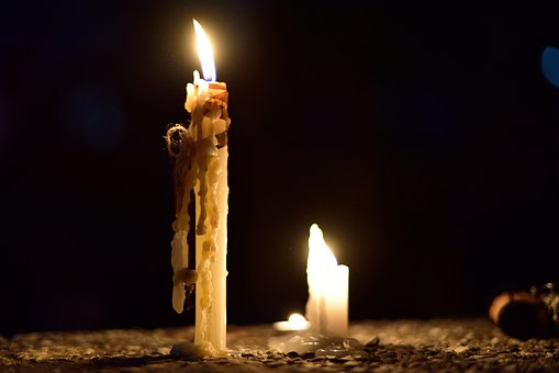 Sailing, Light, Wax, Candles, Night, City, Flame, Fire