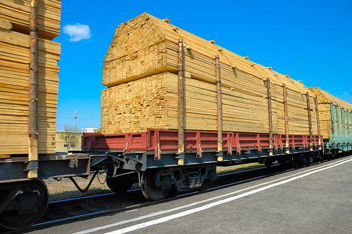 Wagon, Railway, Transport, Delivery, Service, Road