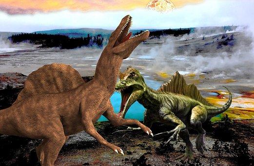 Raptors, Prehistoric, Dinosaur, Extinct, Reptile