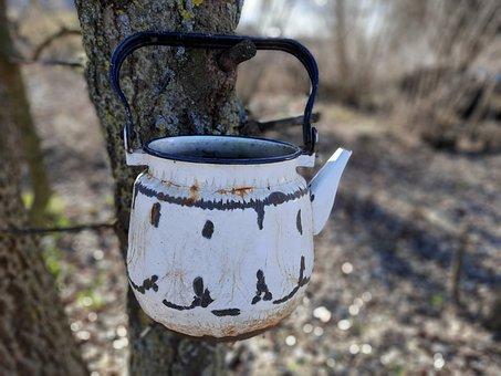 Maker, Old, Drink, Coffee, Pot, Breakfast, Retro, Tea