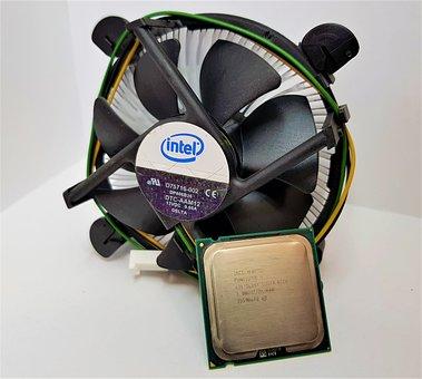Cpu, Fan, Heatsink, Pentium 4, Hardware, Processor