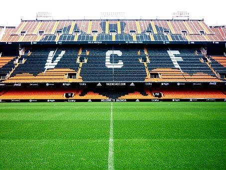 Grass, Stadium, Football, Sport, Green, Field, Game