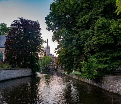 Bruges, Belgium, Channel, Historically, Architecture