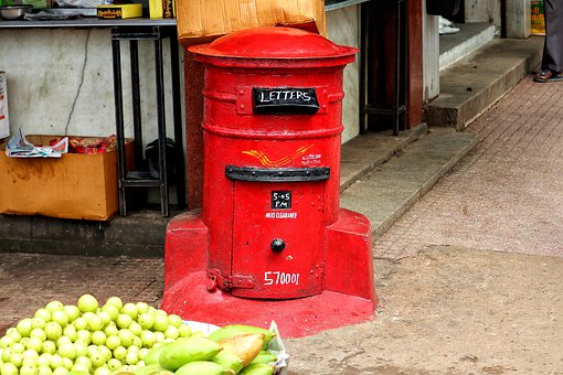 India, Mailbox, Post, Indian Post, Letters, Letter Box