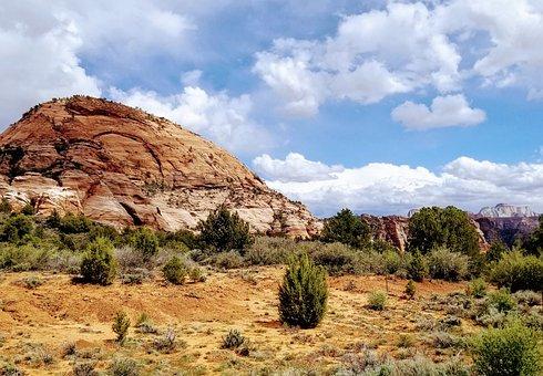 Utah, Zion, Landscape, Nature, Scenic