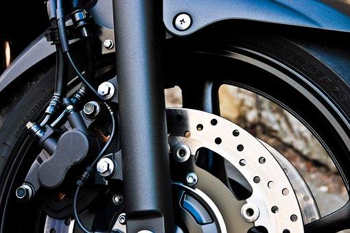 Brake, Motorcycle, Wheel, Steel, Locomotion, Mechanics